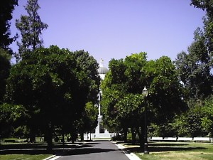 Walkway to the State Capital