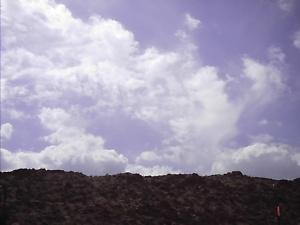 Sky of the Franklin Mts in El Paso