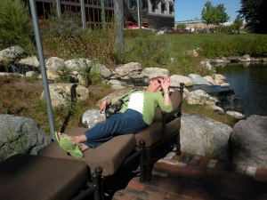 No pictures please, I'm sunning on the Bass Pro porch!