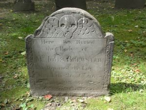 Grave Stone from King's Chapel