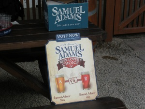 I voted for the Ale